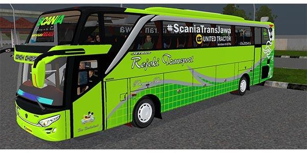 bus full anim scania