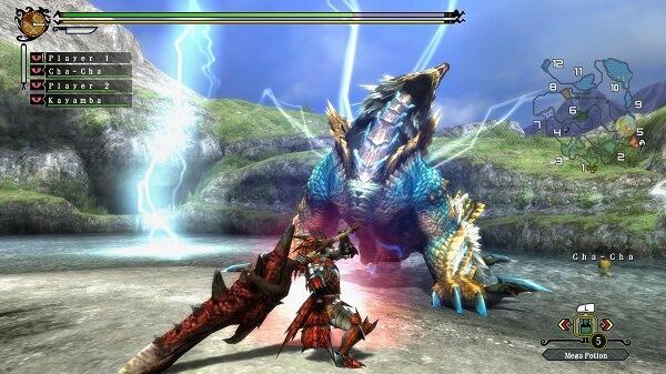game ppsspp iso monster hunter