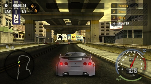 game ppsspp need for speed ukuran kecil