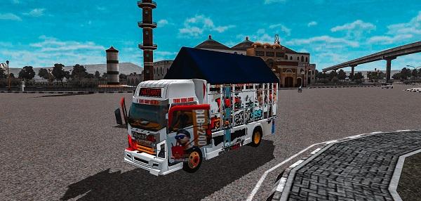truck canter tawakal