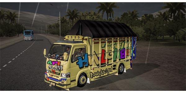 truck full anim kuning